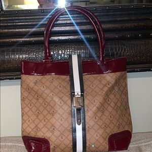 LAMB Gwen Stefani large leather tote bag